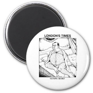 Male Lingerie Funny Gifts Tees & Collectibles 6 Cm Round Magnet