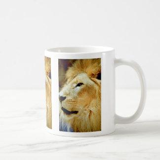 Male Lion Head Coffee Mug
