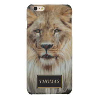 Male lion in Color iPhone 6 Plus Case