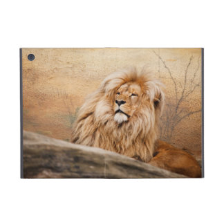 Male Lion Photo Cover For iPad Mini