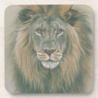 Male Lion With Beautiful Mane Coaster
