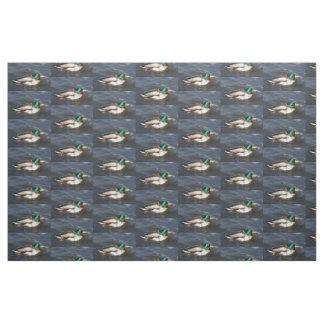 Male Mallard Duck Fabric