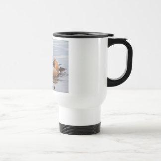 Male Mandarin Duck Travel Mug