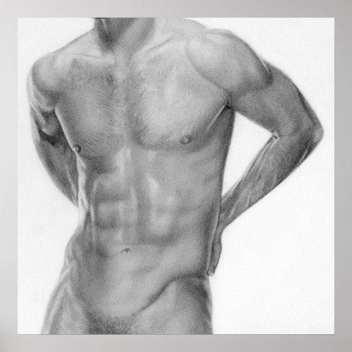 Male nude 12 print
