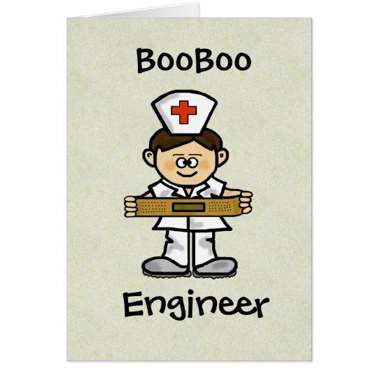 Male Nurse Greeting Card Customise It!
