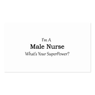Male Nurse Pack Of Standard Business Cards