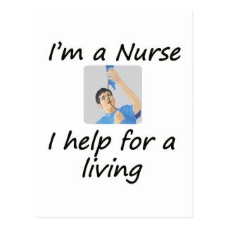 Male Nurse Post Cards