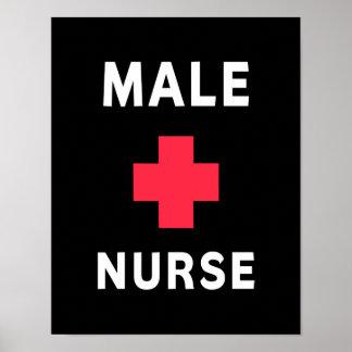 Male Nurse Posters