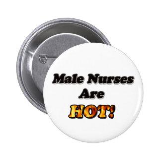 Male Nurses Are Hot 6 Cm Round Badge