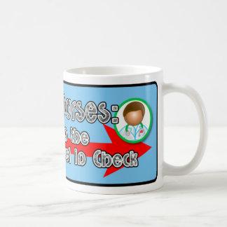 Male Nurses: Basic White Mug