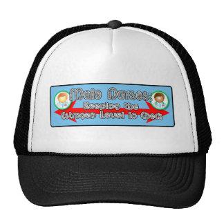 Male Nurses: Mesh Hats