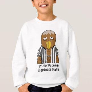 Male pattern baldness eagle sweatshirt