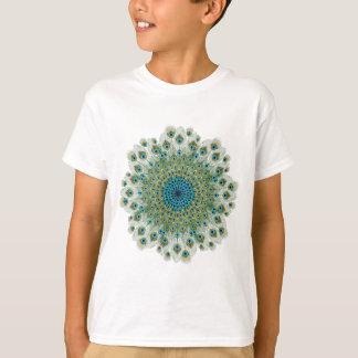 Male Peacock Colorful Mandala T-Shirt
