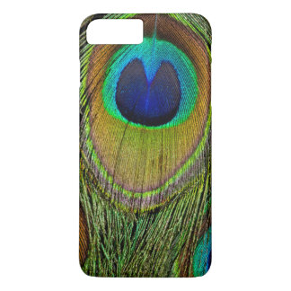 Male peacock tail feathers iPhone 8 plus/7 plus case