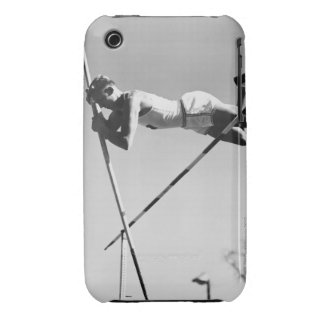 Male Pole Vaulter iPhone 3 Case-Mate Cases