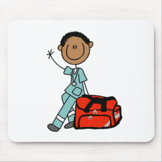 Male Respiratory Therapist or EMT Mousepad