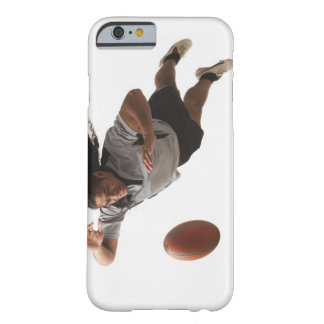Male rugby player diving for ball barely there iPhone 6 case