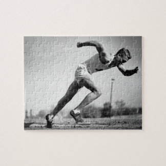 Male Runner Jigsaw Puzzle
