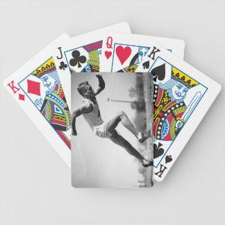 Male Runner Poker Deck