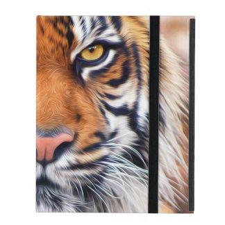Male Siberian Tiger Paint Photograph iPad Case