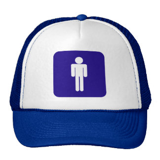 Male Sign Mesh Hats