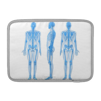 Male Skeleton Sleeve For MacBook Air