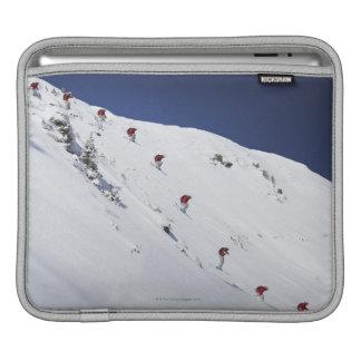 Male Skier iPad Sleeve