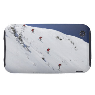 Male Skier iPhone 3 Tough Case