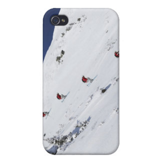 Male Skier iPhone 4/4S Cases