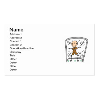 Male Soccer Goal Keeper T-shirts and Gifts Pack Of Standard Business Cards