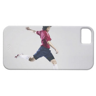 Male soccer player preparing to kick ball case for the iPhone 5