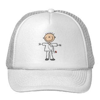 Male Stick Figure Nurse Hats