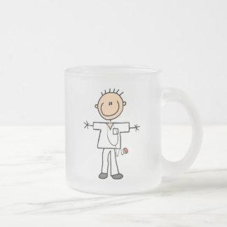 Male Stick Figure Nurse Mugs