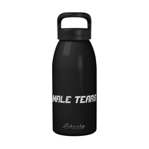 Male Tears Water Bottles