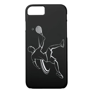 Male Tennis Player Volley iPhone 8/7 Case