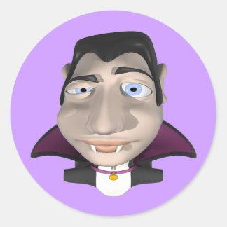 Male Vampire Sticker