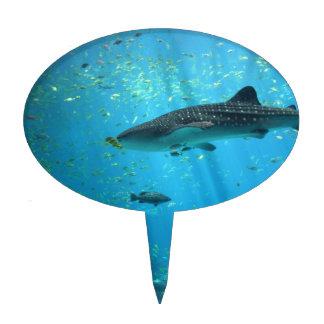 Male Whale Shark Cake Topper