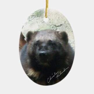 Male Wolverine Christmas Ornament