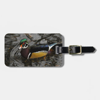 Male Wood Duck At Crystal Springs Rhododendron Luggage Tag