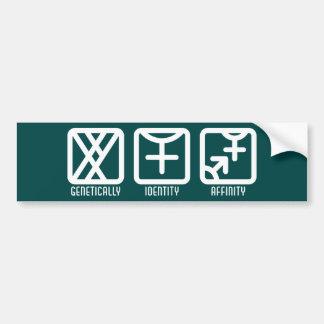 MaleFemale to Both Dark Bumper Sticker