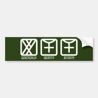 MaleFemale to Female Dark Bumper Sticker