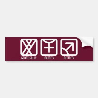 MaleFemale to Male Dark Bumper Sticker