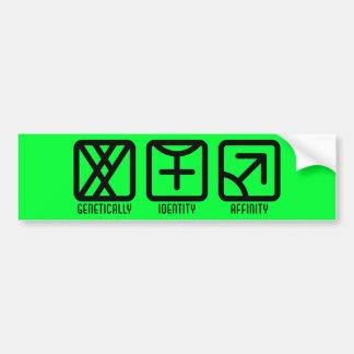 MaleFemale to Male Light Bumper Sticker