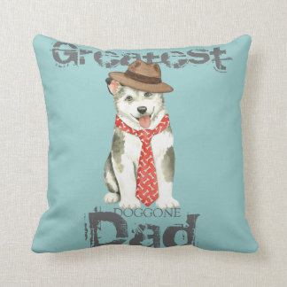 Malemute Dad Cushion