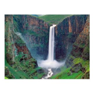 Maletsunyane Falls Lesotho Postcard
