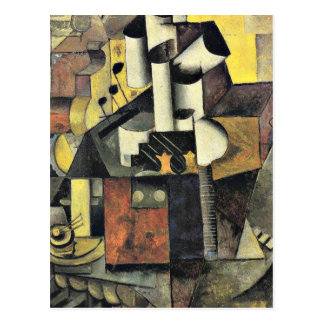 Malevich - Musical Instrument Postcards