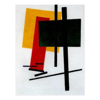 Malevich - Suprematism 1915 Postcard
