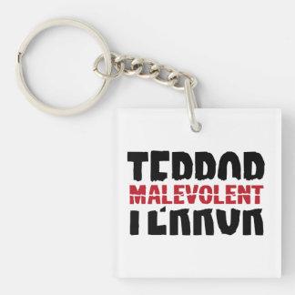 Malevolent terror acrylic keychains