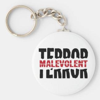 Malevolent terror keychains