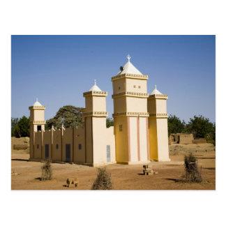 Mali, Bamako. Mosque, Bamako-Djenne Road Postcard